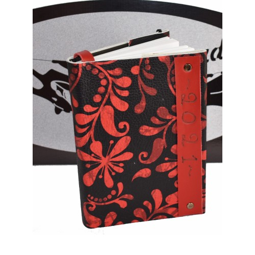 Ημερολόγια_δερματόδετα_black&red